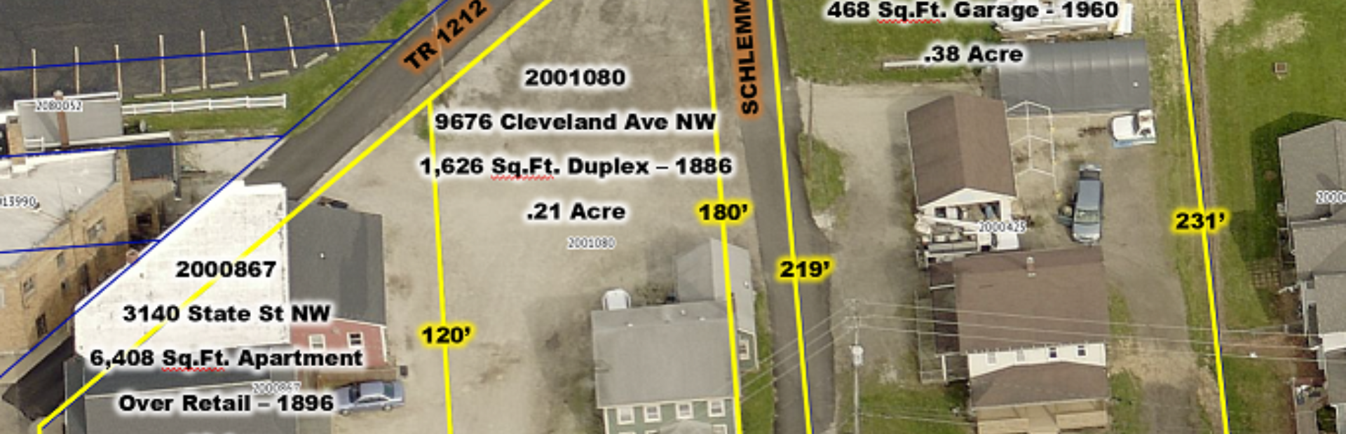6,822 S.F. RETAIL, HOME AND DUPLEX FOR SALE