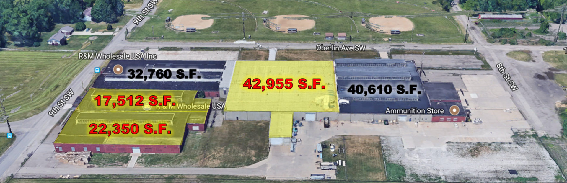 17,512 SQ.FT. UP TO 82,817 SQ.FT. INDUSTRIAL SPACE FOR LEASE
