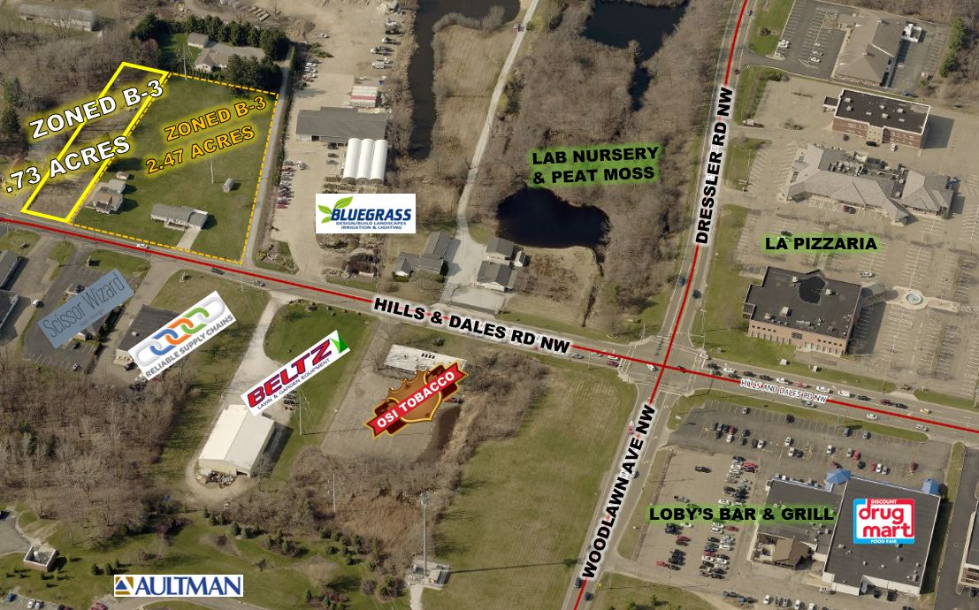 0.73 ACRES B-3 COMMERCIAL LAND FOR SALE