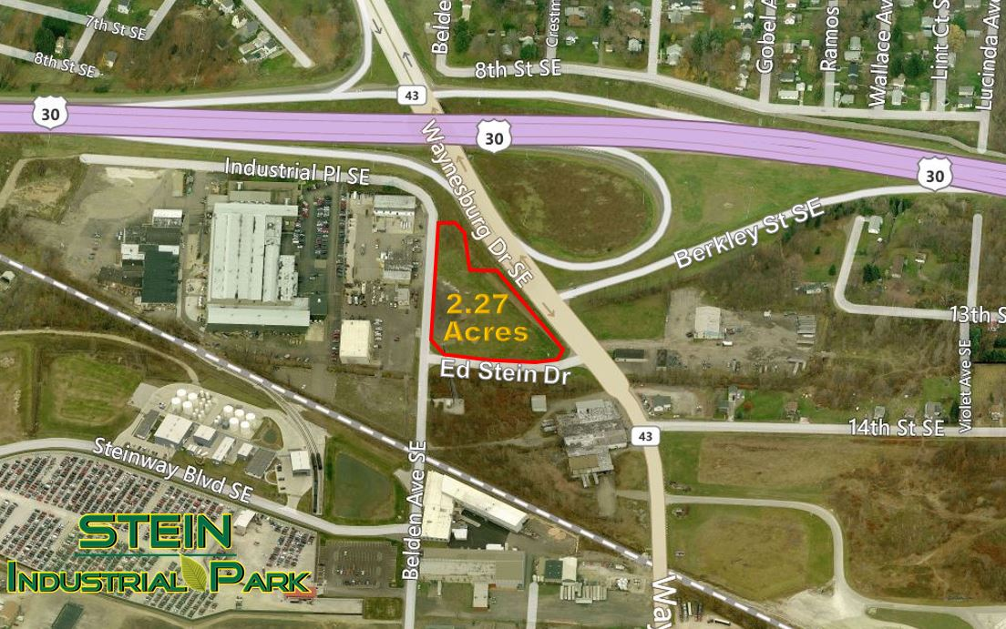 2.27 ACS OF COMMERCIAL LAND @ RT.30 & 43 SOUTH
